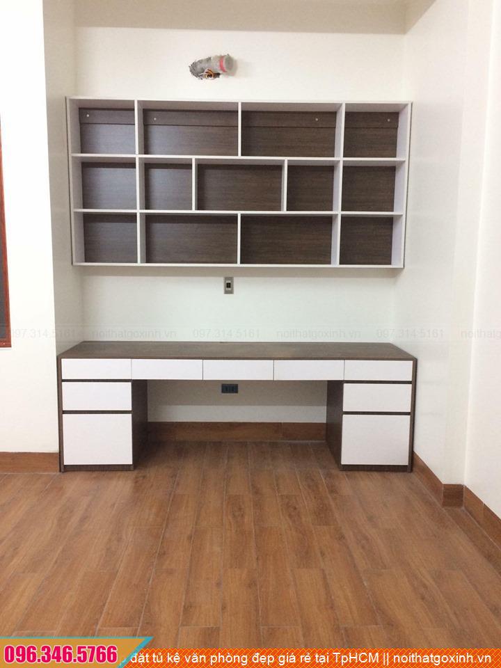 Lắp đặt tủ kệ văn phòng đẹp giá rẻ tại TpHCM