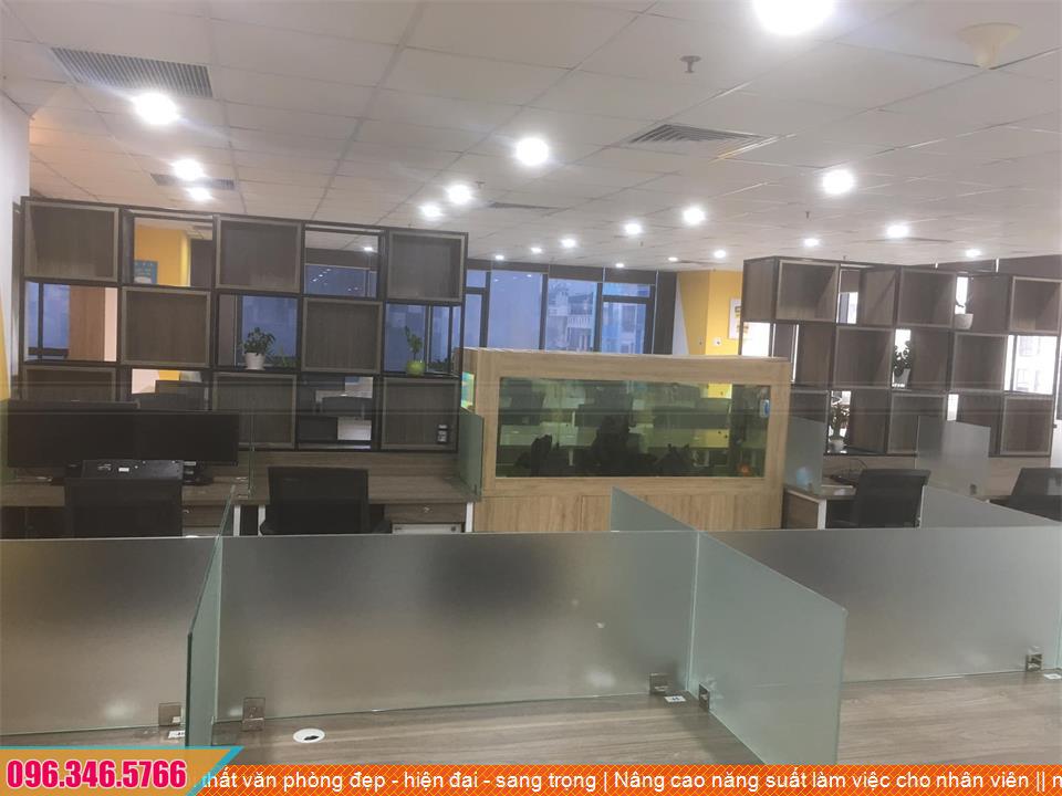 Nội thất văn phòng đẹp - hiện đại - sang trọng | Nâng cao năng suất làm việc cho nhân viên