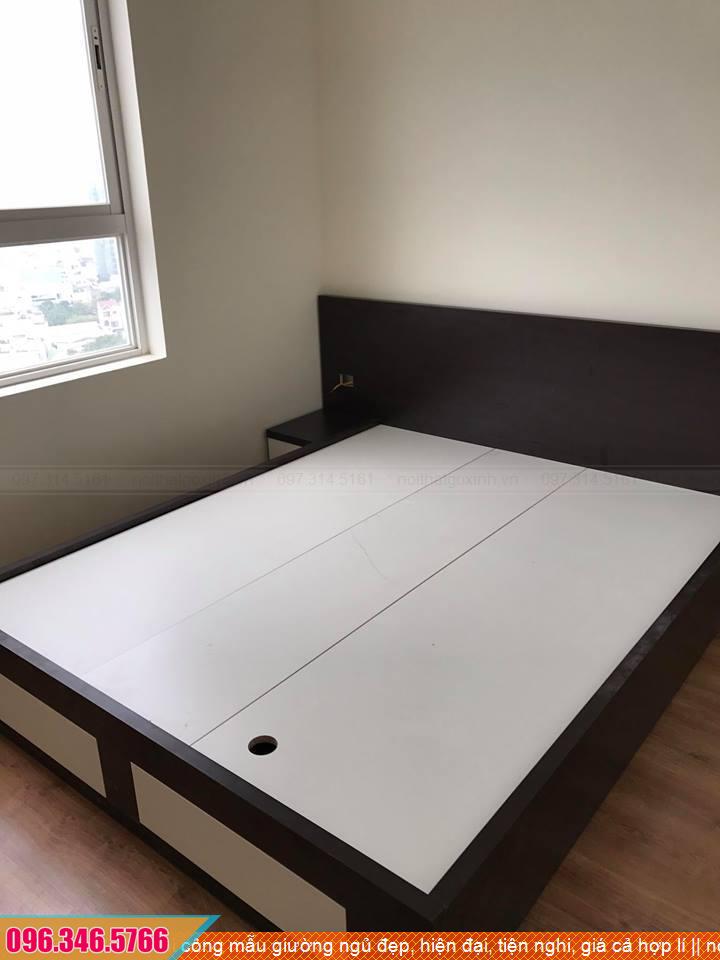 Thi công mẫu giường ngủ đẹp, hiện đại, tiện nghi, giá cả hợp lí