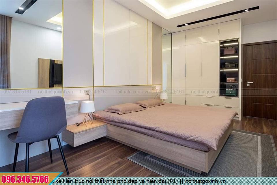 Thiết kế kiến trúc nội thất biệt thự nhà phố đẹp và hiện đại (P1)