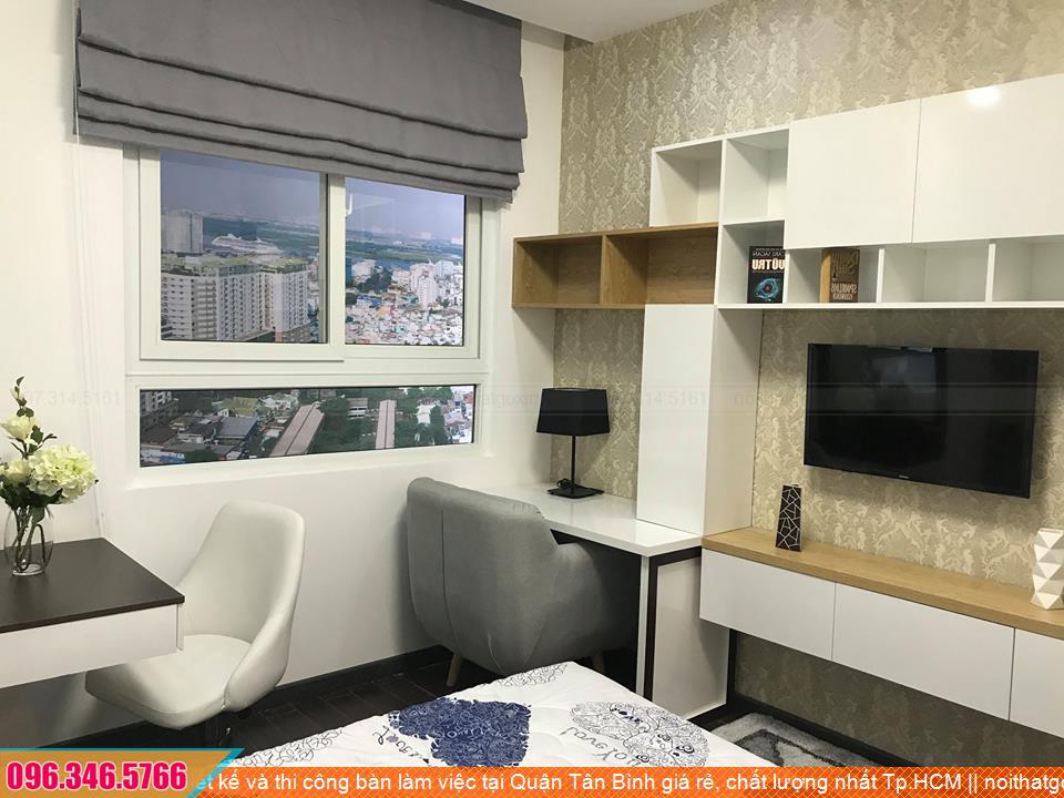 Thiết kế và thi công bàn làm việc tại Quận Tân Bình giá rẻ, chất lượng nhất Tp.HCM