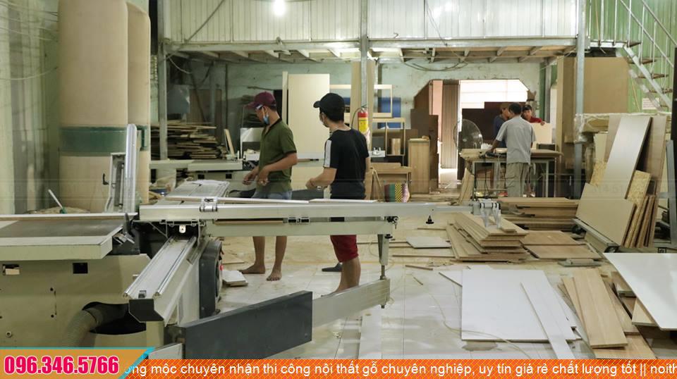 Xưởng mộc chuyên nhận thi công nội thất gỗ chuyên nghiệp, uy tín giá rẻ chất lượng tốt