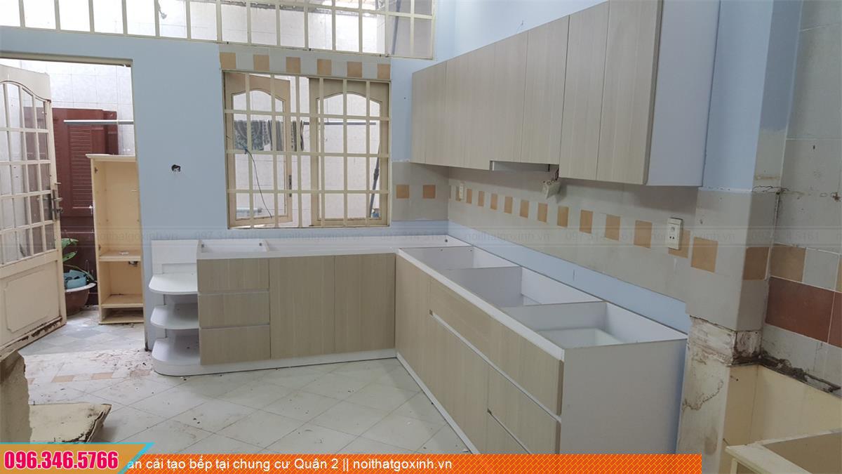 Dự án cải tạo bếp tại chung cư Quận 2 202820KWZ