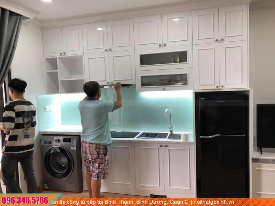 Dự án thi công tủ bếp tại Bình Thạnh, Bình Dương, Quận 2 4431204KY