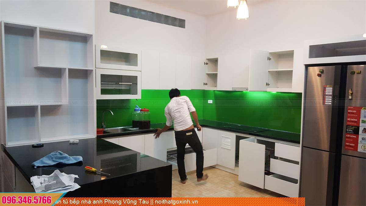Dự án tủ bếp nhà anh Phong Vũng Tàu 313020EL3