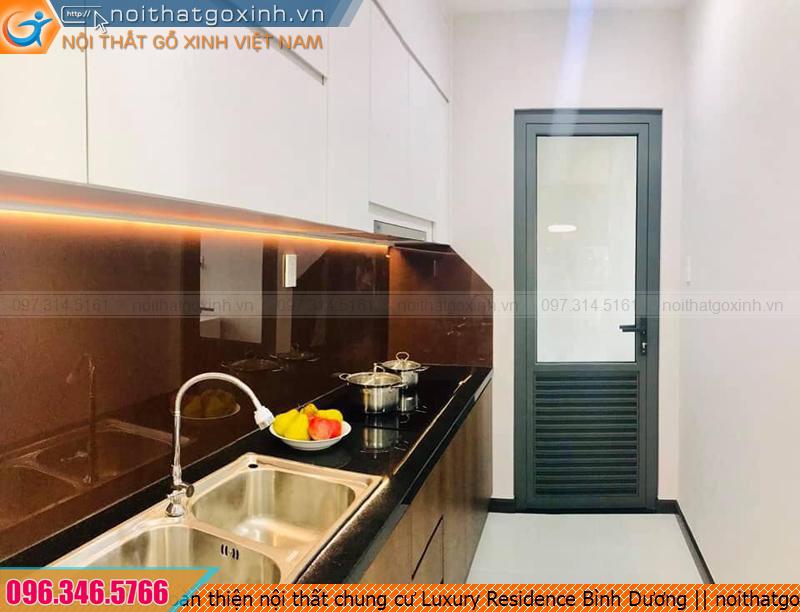Hoàn thiện nội thất chung cư Luxury Residence Bình Dương