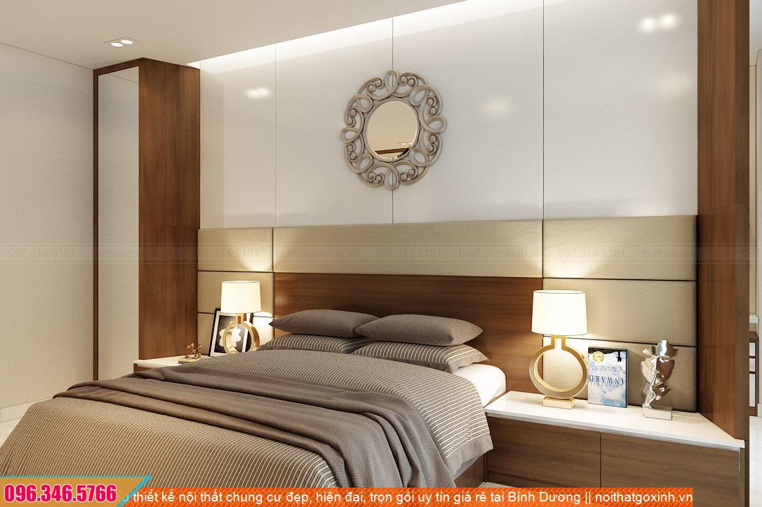 Mẫu thiết kế nội thất chung cư đẹp, hiện đại, trọn gói uy tín giá rẻ tại Bình Dương 54312054Q