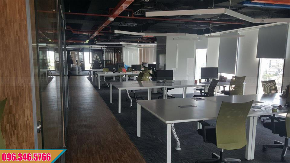 Thiết kế, thi công nội thất văn phòng đẹp, chất lượng, giá cả ưu đãi  tại TP.HCM