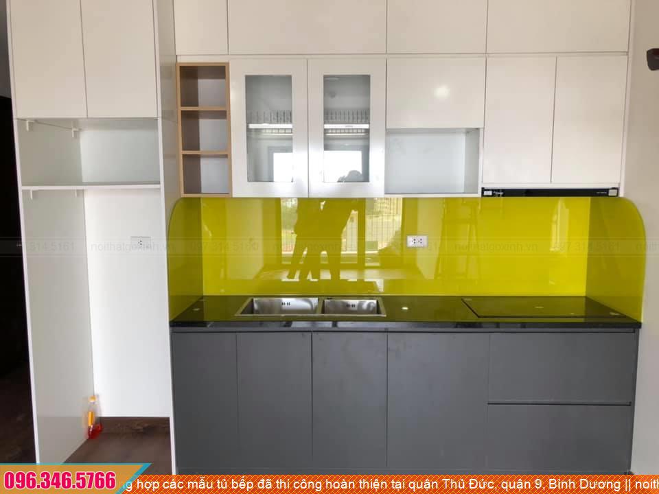Tổng hợp các mẫu tủ bếp đã thi công hoàn thiện tại quận Thủ Đức, quận 9, Bình Dương 003020VMT