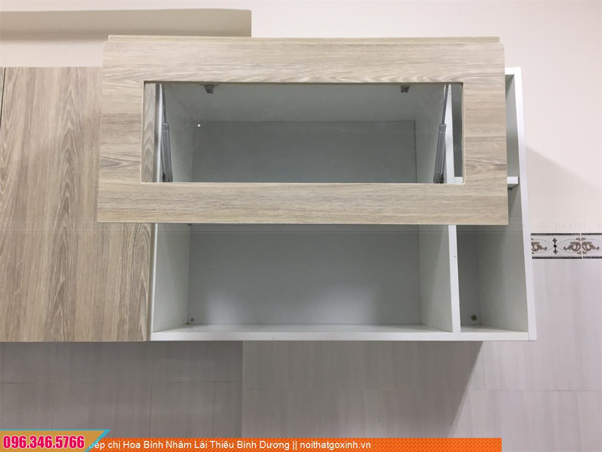 Tủ bếp chị Hoa Bình Nhâm Lái Thiêu Bình Dương 073020DCU