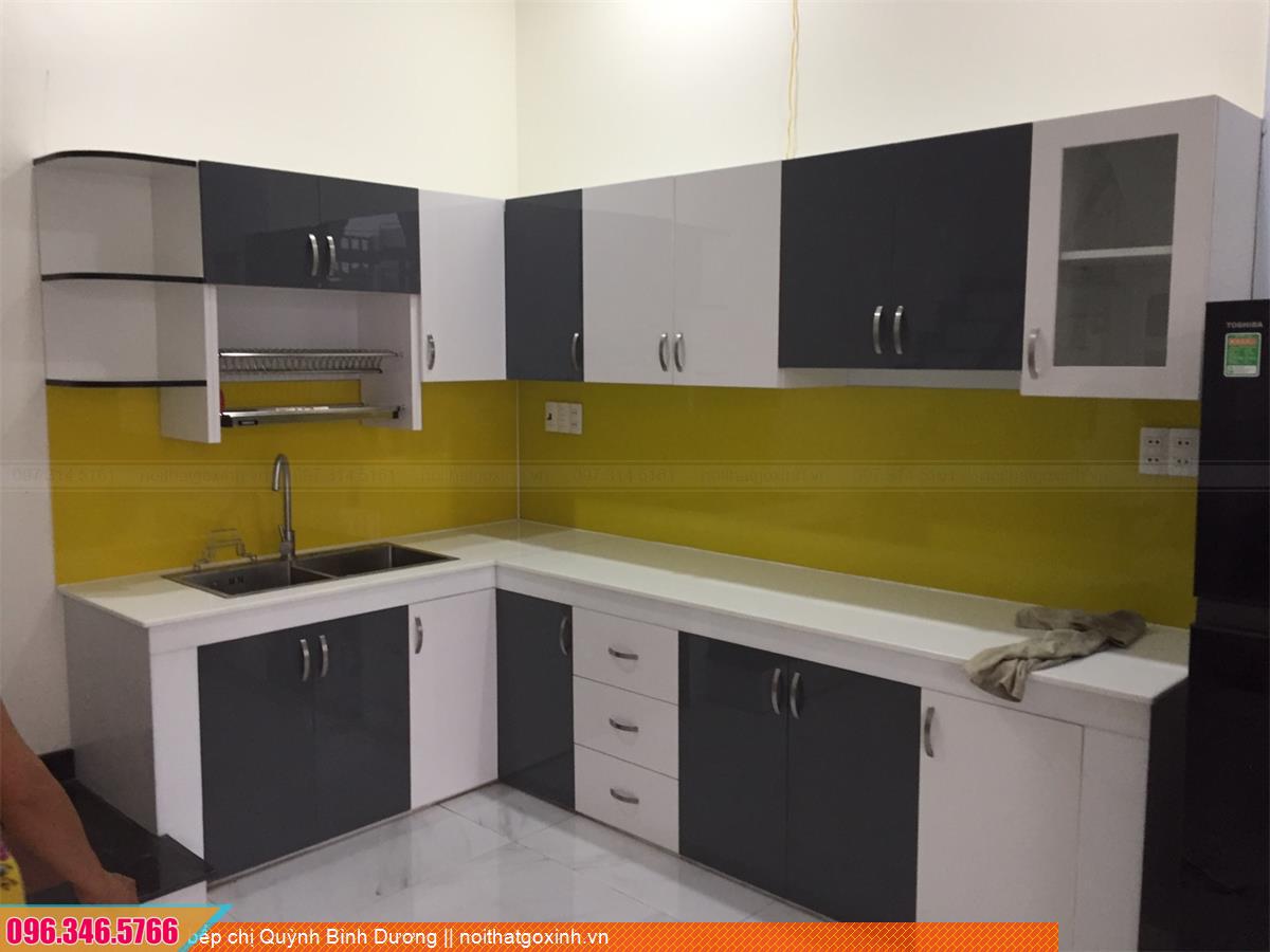 Tủ bếp chị Quỳnh Bình Dương 3930207BD